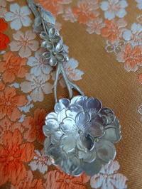桜のアンティーク・シルバースプーン♪ - アンティークな小物たち ~My Precious Antiques~