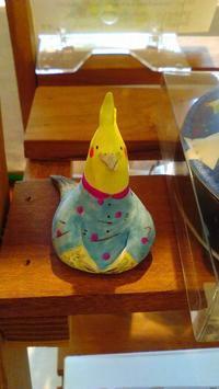 関西つうしん鳥展に松岡文さん新作到着。火曜・水曜は定休日です - 雑貨・ギャラリー関西つうしん
