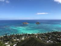 ハワイ:Lanikai Pillbox Hike(ラニカイ・ピルボックス) - 転々娘の「世界中を旅するぞ~!」