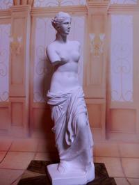 人形コント:其の17「ミロのヴィーナス」1 - 粘土天国
