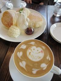 『Cafe Nica』でふわふわパンケーキ♪ - a&kashの時間。