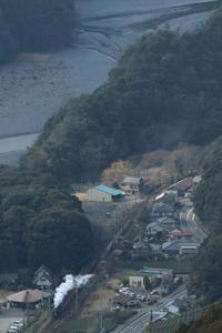 大井川の午後の煙 - 2017年・大井川 - - ねこの撮った汽車