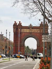 Arco de Triunfoあたり1 - gyuのバルセロナ便り  Letter from Barcelona
