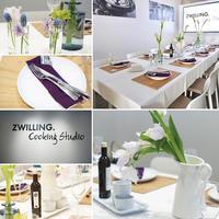 Baking Studio Grano Di Ciaco佐川先生が担当されたツヴィリングクッキングスタジオ 春爛漫のテーブル♪ - きれいの瞬間~写真で伝えるstory~