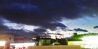 西の空に向って・・シャッターをカシャリ!6:30pm - 太田 バンビの SCRAP BOOK