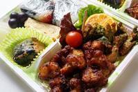 ■【鶏&タラの芽の塩麹唐揚げ弁当】竹細工イベントの時持参した物です♪ - 「料理と趣味の部屋」