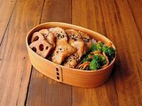 3/15(水)鶏むね肉のからし和え弁当 - おひとりさまの食卓plus