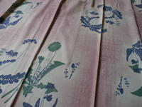 春の着物 - 中村かをる創作帯屋