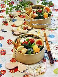 エビフライ弁当とキタノカオリでバターロール♪ - ☆Happy time☆