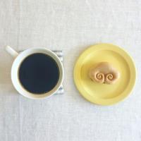 小ざさの最中と珈琲 - the de saison おやつとお茶時間
