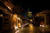 東山花灯路2017・法観寺と花車巡行 - 花景色-K.W.C. PhotoBlog
