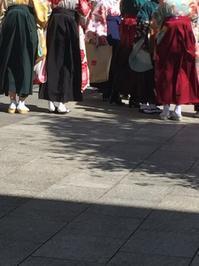 卒業式 - 着付師 時々ハンドメイド