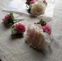 生花コサージュ週間 - マゴの庭