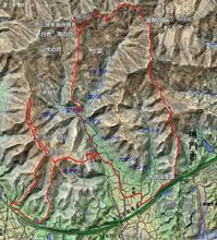 トレイルラン 高尾山~藍染山~万石山~千石山 - 阿讃の山と谷