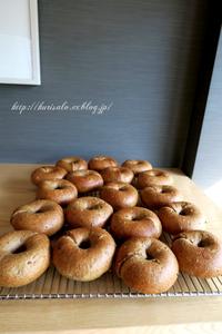 ベーグル - KuriSalo 天然酵母ちいさなパン教室と日々の暮らしの事