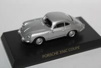 1/64 Kyosho PORSCHE 356C Coupe 1965 - 1/87 SCHUCO & 1/64 KYOSHO ミニカーコレクション byまさーる