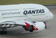 2017シドニー遠征 その13 シドニー1日目 カンタス航空 A380 (2) - 南の島の飛行機日記