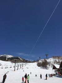 春スキー - メグデンブログ