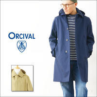 ORCIVAL[オーチバル・オーシバル] COTTON BONDING SINGLE P COAT LONG [RC-8788WB] MEN'S - refalt   ...   kamp temps