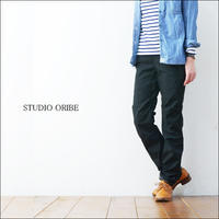 STUDIO ORIBE [スタジオオリベ] RIB PANTS BLACK [リブパンツ] LADY'S - refalt   ...   kamp temps