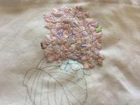 あじさいの色選び - Embroidery Lover's Diary  刺繍愛好家日記