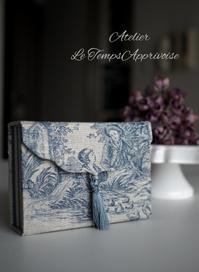レッスン ~リモコン入れ・BOOK型のアクセサリーケース~ - Koh diary ~Le Temps Apprivoise~