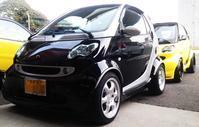 MCCスマート クーペ・BRABUSカブリオ 納車準備 - smart.ism 北九州