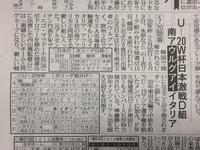 U-20W杯組み合わせ決定 - 湘南☆浪漫