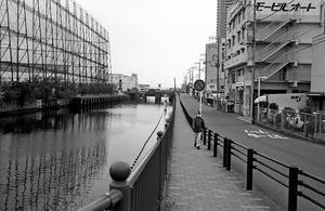 運河沿い(その3) - そぞろ歩きの記憶