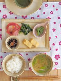 和の朝ごはん - 陶器通販・益子焼 雑貨手作り陶器のサイトショップ 木のねのブログ