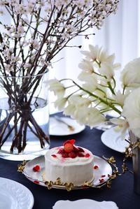 ショートケーキレッスン レポート② - Misako's Sweets Blog アイシングクッキー 教室 シュガークラフト教室 フランス菓子教室 お菓子 教室