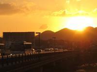 日の出橋・(福岡県直方市) - ウエスタンビュー ★九州の路線バス沿線風景サイト★