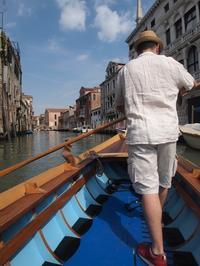 ゴンドラ漕ぎに挑戦! ヴェネツィア イタリア旅行2015(30) - la carte de voyage