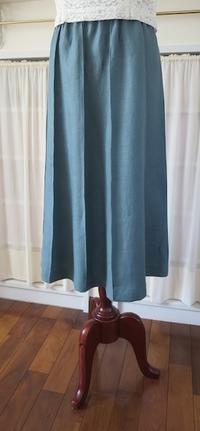 スカート2点…リネン&コットン - いつかリリアン・ギッシュのように…手作りお洋服のあとりえ便り