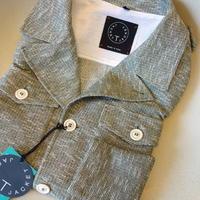 T-JACKET(Tージャケット)M43スタイルジャージジャケット(メランジグリーン) - 下町の洋服店 krunchの日記