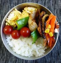 3月16日 豚ロースの塩麹焼き弁当 - *500ml弁当*