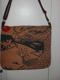 龍柄のバッグ - mackeyの手作り小物