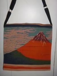 富士山.竹ん芸柄のバッグ 2点 - mackeyの手作り小物
