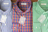 チェックシャツ、リネンのオーダーが続きます。 - BISYUYA BLOG