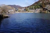 金鱗湖を眺められる Cafe La Ruche で休憩  - mayumin blog 2