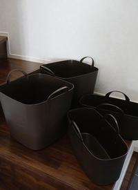 リサイクル用ごみ出しバケツを、ちょっとお洒落にぷちDIY(自己満足!?) - そらたび