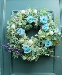熊本復興支援 ご報告 ラベンダーとドライアジサイリース - 一会 ウエディングの花