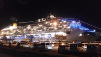 客船のライトアップ - おでかけメモランダム☆鹿児島