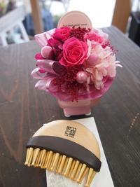 母の日のコラボ商品♪フラワールーシュ母の日限定☆癒しセット - ルーシュの花仕事