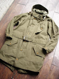 "NEW : Nigel Cabourn [COLD WEATHER PARKA] ""HALFTEX"" 2017 SPRING !! - HOME TOWN STORE River Side"