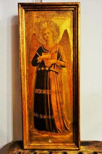 天使像の木製金彩額596  sold out! - スペイン・バルセロナ・アンティーク gyu's shop