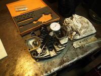 1964XLCH900 シリンダーヘッド周り組み付け作業 - Vintage motorcycle study