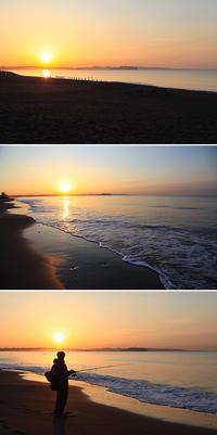 2017/03/17(FRI) 朝霞の海辺では........。 - SURF RESEARCH