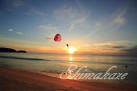 パラセーリング♪ - Shimakaze Life     ~家族3人ゆる~い時間をプーケット島で楽しんでおります~