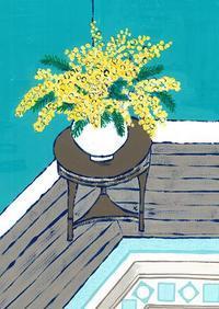 ミモザ - たなかきょおこ-旅する絵描きの絵日記/Kyoko Tanaka Illustrated Diary